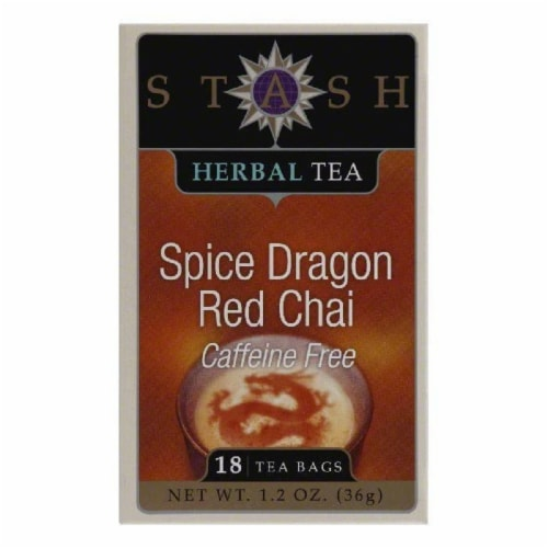 Stash Tea Tea Decaf Chai Red Spice, 18 BG (Pack of 6) Perspective: front