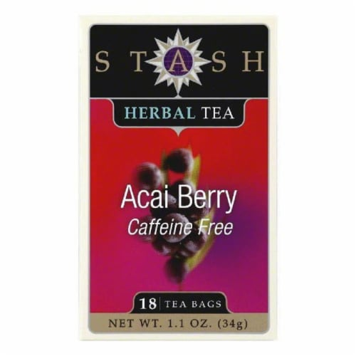 Stash Tea Acai Berry, 18 BG (Pack of 6) Perspective: front