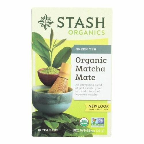 Stash Tea Tea - Organic - Matcha Mate - Case of 6 - 18 BAG Perspective: front