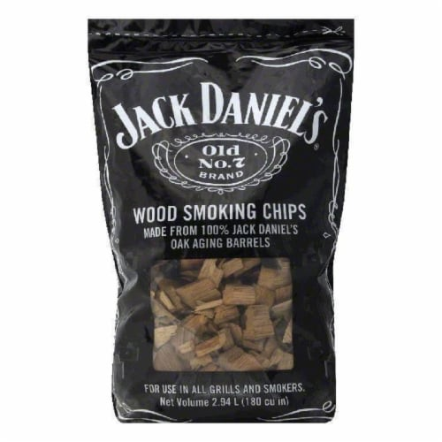 Jack Daniels Wood Smoking Chips, 2 LB (Pack of 6) Perspective: front