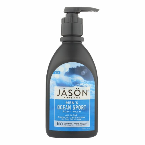 Jason Natural Products Body Wash - All N One - Sport - 30 fl oz Perspective: front