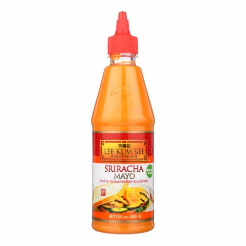 Lee Kum Kee Mayonnaise - Sriracha - Case of 6 - 15 fl oz Perspective: front