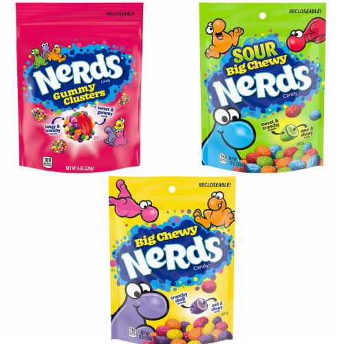 Nerds Candy Variety Pack Perspective: front