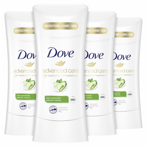 Dove Advanced Care Cool Essentials Solid Anti-Perspirant Perspective: front