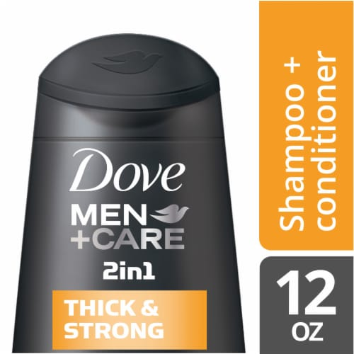 Dove Men + Care Thickening Fortifying Shampoo 4 Count Perspective: front