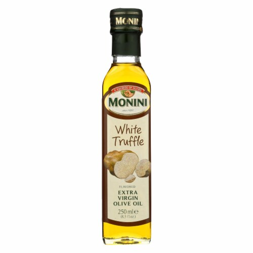 Monini - Extra Virgin Olive Oil - White Truffle - Case of 6 - 8.5 fl oz. Perspective: front