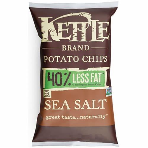 Kettle Lightly Salted Potato Chips - 2 oz. bag, 6 per case Perspective: front