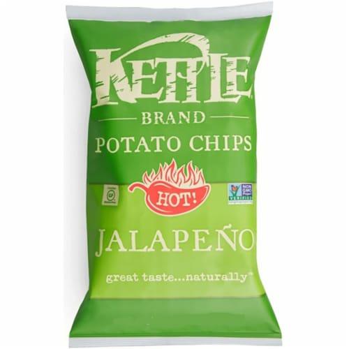 Kettle Jalapeno Potato Chips - 2 oz. bag, 6 per case Perspective: front