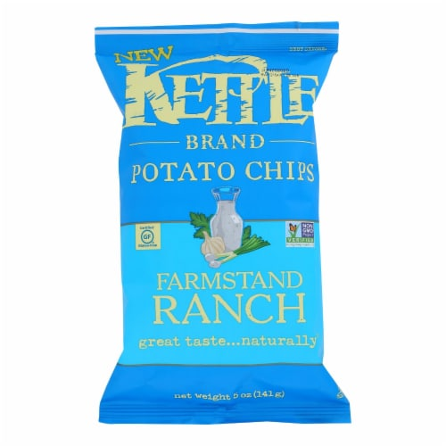 Kettle Brand - Chips Farmstand Ranch - Case of 15 - 5 OZ Perspective: front