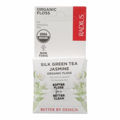 Radius - Floss Green Tea Silk - Case of 6 - 33 YD Perspective: front