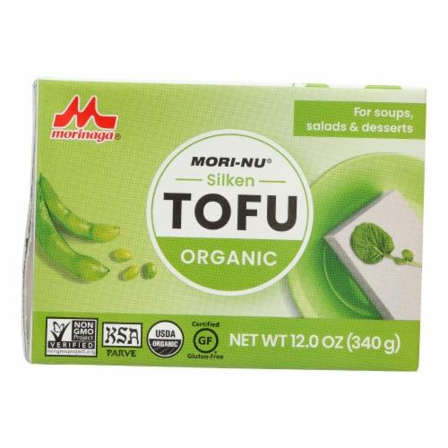 Mori-nu - Tofu Silk Soft - Case of 12 - 12 OZ Perspective: front