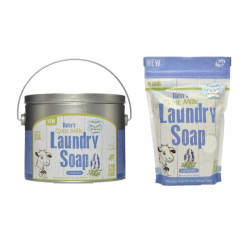 Brook&Nora 18oz. Laundry Detergent Powder Lavender 120loads +45 Loads Perspective: front