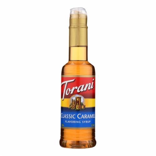 Torani - Syrup - Caramel - Case of 4 - 12.7 fl oz. Perspective: front