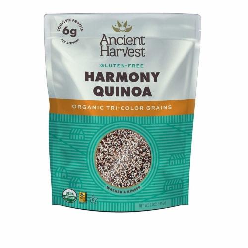 Ancient Harvest Quinoa - Organic Tricolored Grain - Case of 6 - 23 oz. Perspective: front