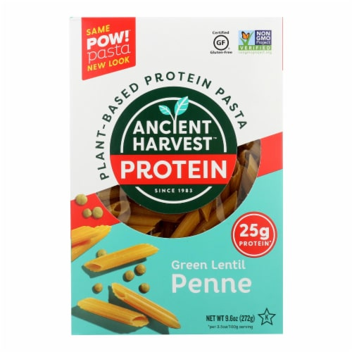 Ancient Harvest Pasta - Penne - Case of 6 - 9.6 oz. Perspective: front