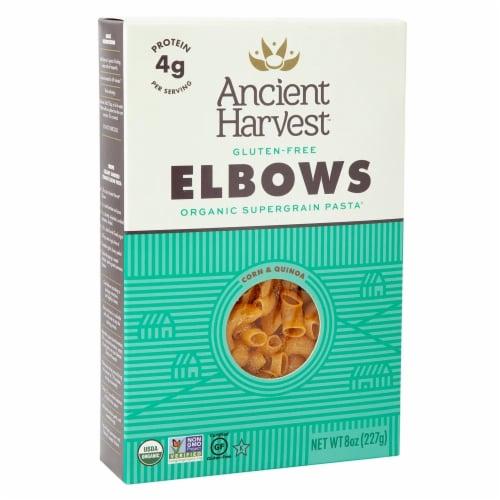 Ancient Harvest Organic Quinoa Supergrain Pasta - Elbows - Case of 12 - 8 oz Perspective: front