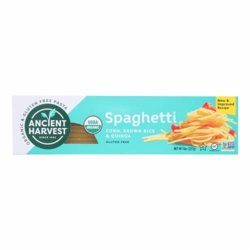 Ancient Harvest Organic Quinoa Supergrain Pasta - Linguine - Case of 12 - 8 oz Perspective: front