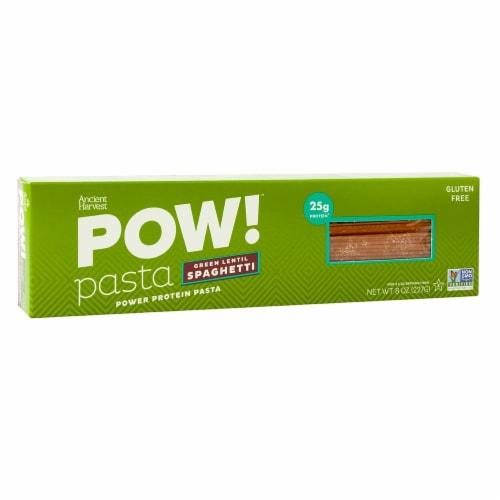 Ancient Harvest Green Lentil & Quinoa Supergrain Pasta - Spaghetti - Case of 6 - 8 oz Perspective: front