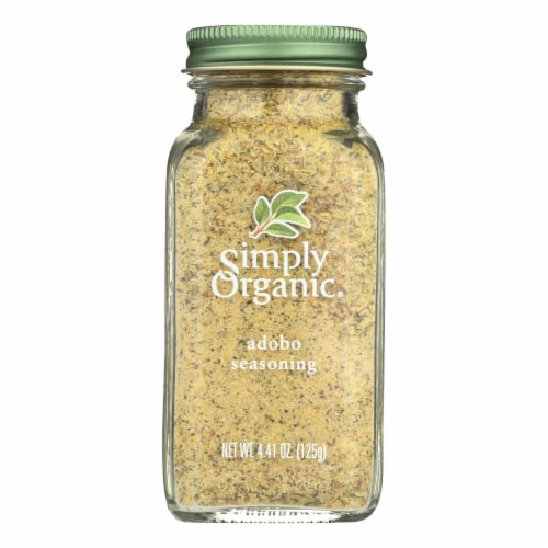 Simply Organic Adobo Seasoning - Case of 6 - 4.41 oz. Perspective: front