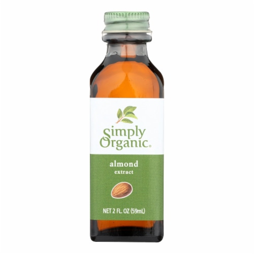 Simply Organic Almond Extract - Organic - 2 oz Perspective: front