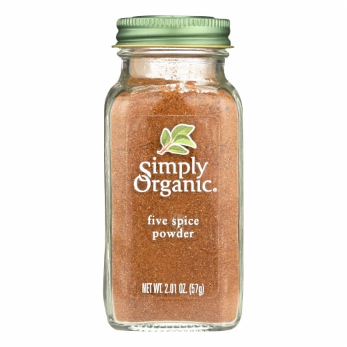 Simply Organic Five Spice Powder - Case of 6 - 2.01 oz. Perspective: front