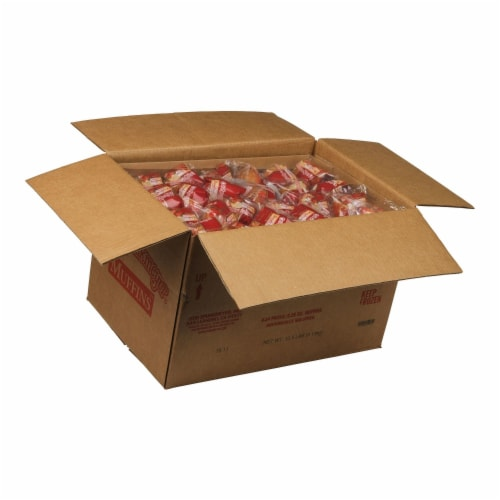Otis Spunkmeyer Individually Wrapped Strawberry Shortcake Muffin, 2.25 Ounce -- 96 per case. Perspective: front