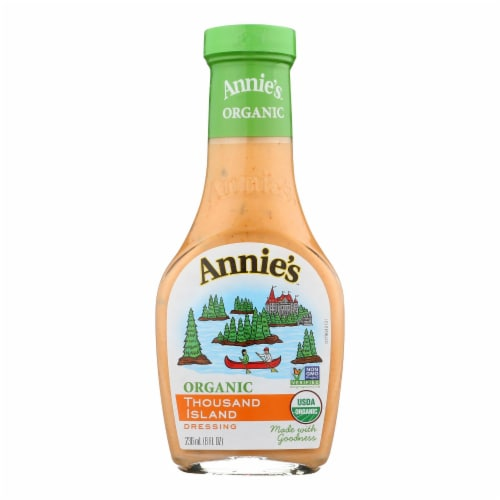 Annie's Naturals Organic Dressing Thousand Island - Case of 6 - 8 fl oz. Perspective: front