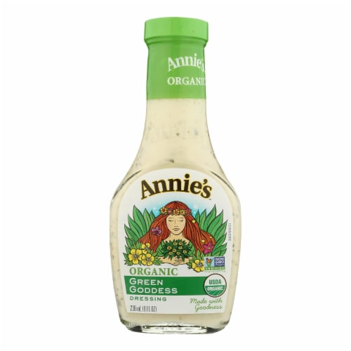 Annie's Organic Green Goddess Dressing Perspective: front