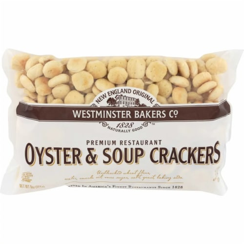 Westminster Bakers Oyster & Soup Crackers, 9oz (Pack of 12) Perspective: front