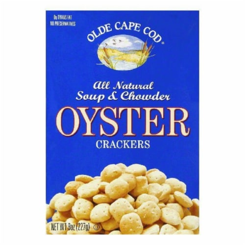 Olde Cape Cod Oyster Crackers, 8 OZ (Pack of 12) Perspective: front