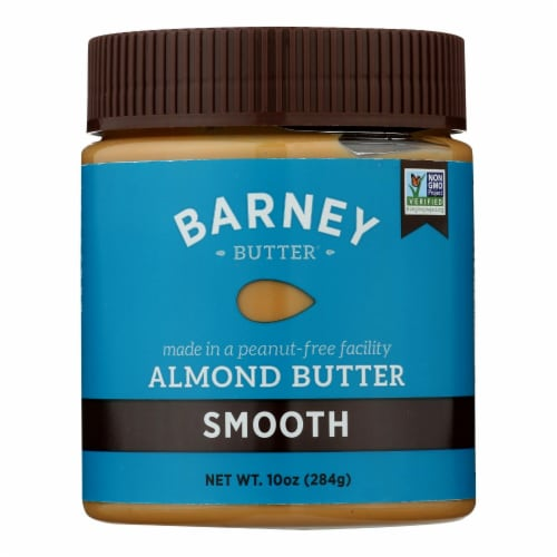 Barney Butter - Almond Butter - Smooth - Case of 6 - 10 oz. Perspective: front