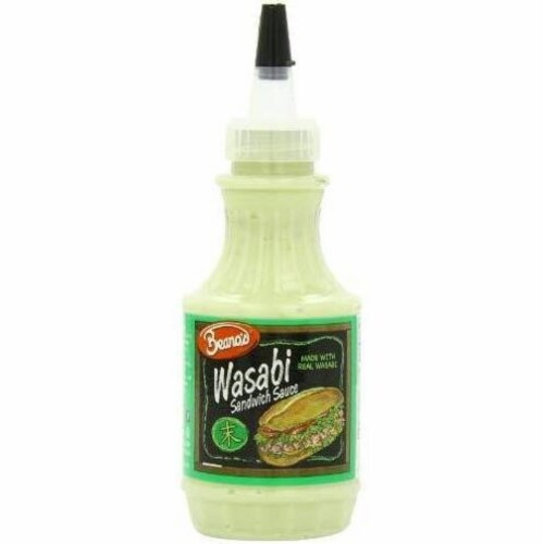 BeanosWasabi Sandwhich Sauce, 8 OZ (Pack of 12) Perspective: front