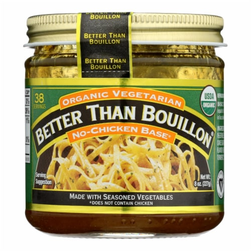 Better Than Bouillon - No Chicken Base - Case of 6 - 8 OZ Perspective: front