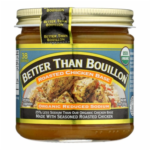 Better Than Bouillon - Rs Rst Chicken Base - Case of 6 - 8 OZ Perspective: front