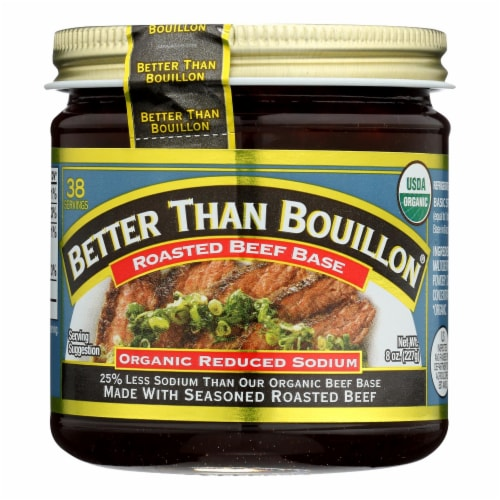 Better Than Bouillon - Rs Rst Beef Base - Case of 6 - 8 OZ Perspective: front