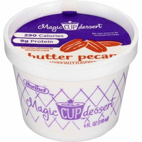 Magic Cup Dessert Butter Pecan Cup, 4 Fluid Ounce - 48 per case Perspective: front