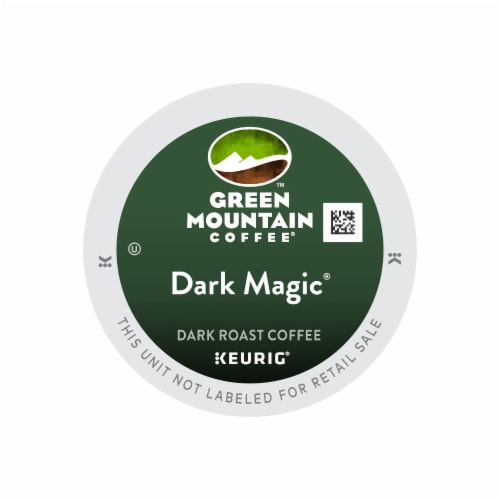 Green Mountain Coffee Dark Magic Dark Roast Coffee K-Cup® Pods Perspective: front
