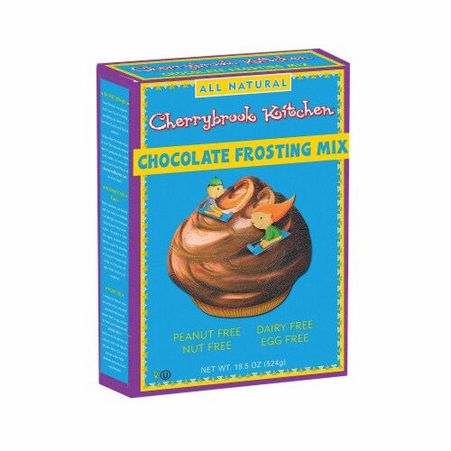 Cherrybrook Kitchen - Chocolate Frosting Mix - Case of 6 - 10.5oz Perspective: front