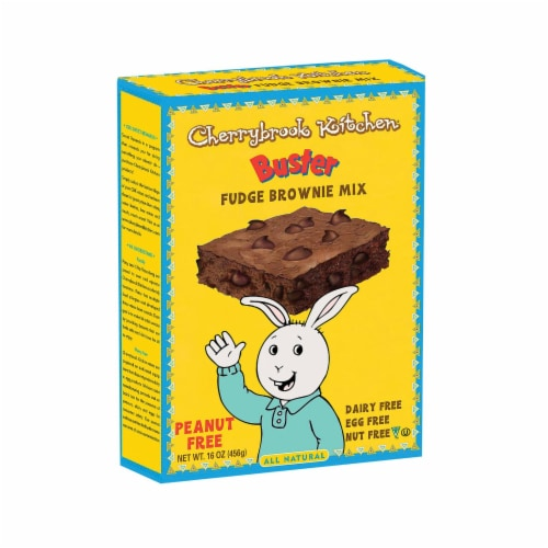 Cherrybrook Kitchen - Brownie Mix with Chocolate Chips - Case of 6 - 16 oz Perspective: front