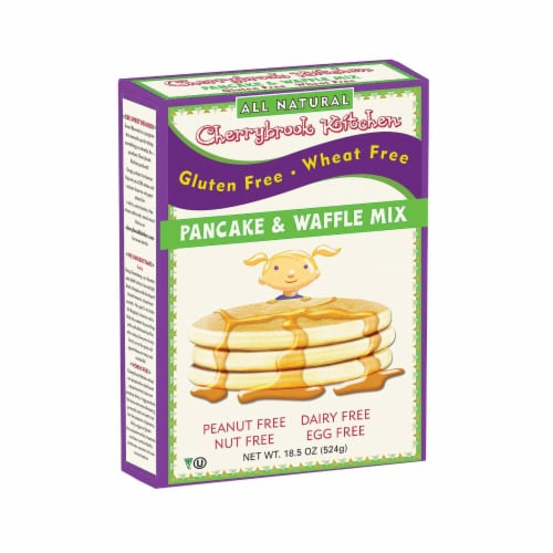 Cherrybrook Kitchen - Pancake and Waffle Mix - Case of 6 - 18 oz. Perspective: front