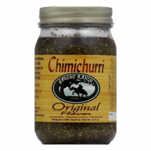 Gaucho Ranch Original Flavor Chimichurri, 12.5 Oz (Pack of 6) Perspective: front