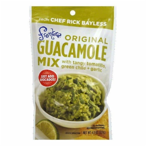Frontera Guacamole Mix Pouch, 4.5 OZ (Pack of 8) Perspective: front
