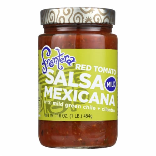 Frontera Foods Salsa Mexicana (Mild) - Salsa Mexicana - Case of 6 - 16 oz. Perspective: front