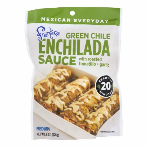 Frontera Medium Green Chile Enchilada Sauce (6 Pack) Perspective: front