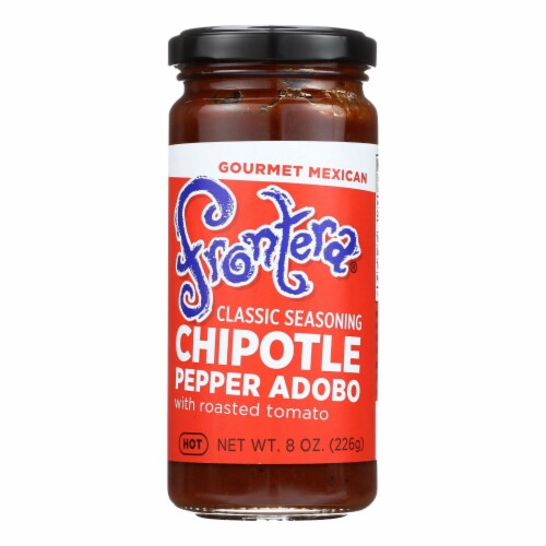 Frontera Foods Chipotle Abodo Seasoning Sauce - Case of 6 - 8 oz. Perspective: front