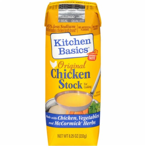 Kitchen Basics Original Chicken Stock 12 Count Perspective: front