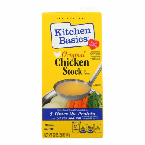 Kitchen Basics All Natural Chicken Stock  - 1 Each - 32 FZ Perspective: front
