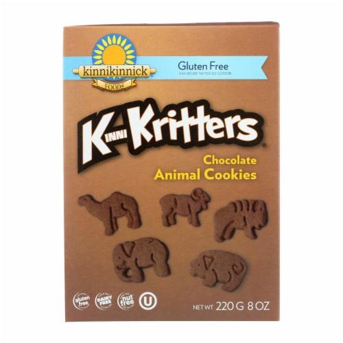 Kinnikinnick Animal Cookies - Case of 6 - 8 oz. Perspective: front