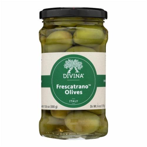 Divina - Olives Frescatrano - Case of 6 - 6 OZ Perspective: front