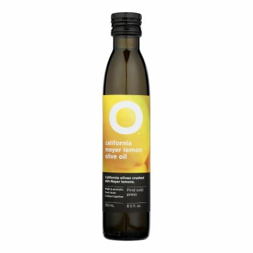 O Olive Oil Meyer Lemon Olive Oil  - Case of 6 - 8.5 OZ Perspective: front